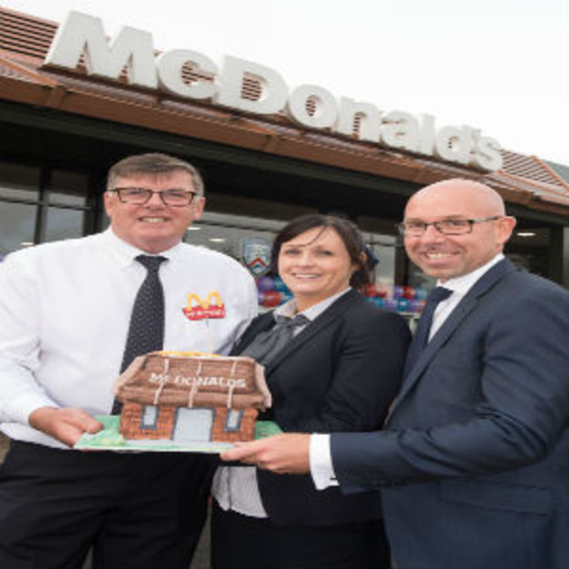 McDonald's Coleraine CeleMcDonald's Coleraine Celebrates 25 Years in the Local Communitybrates 25 Years in the Local Community Image