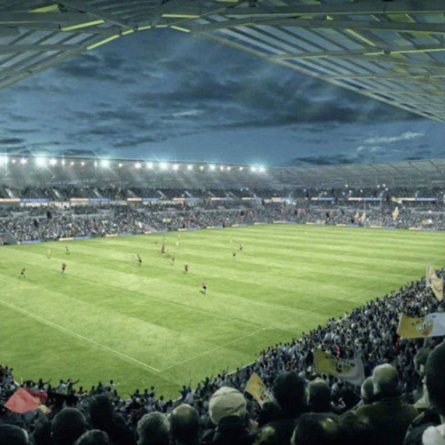 Mallon announces decision to recommend planning approval for new stadium at Casement Park  Image