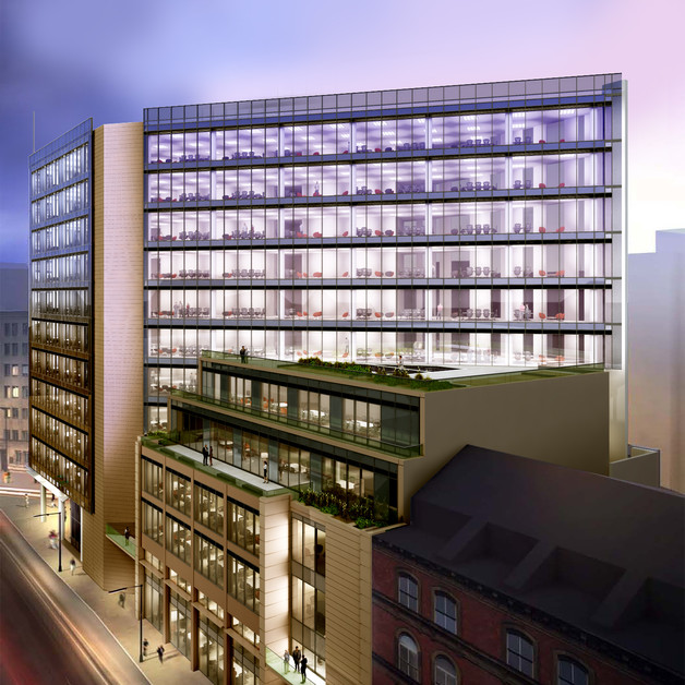 MRP and DLA Piper sign major pre–let deal for Leeds City Centre offices  Image
