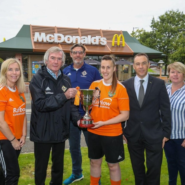 McDonald's Irish FA Virtual Grassroots Awards Tour calls for nominations Image