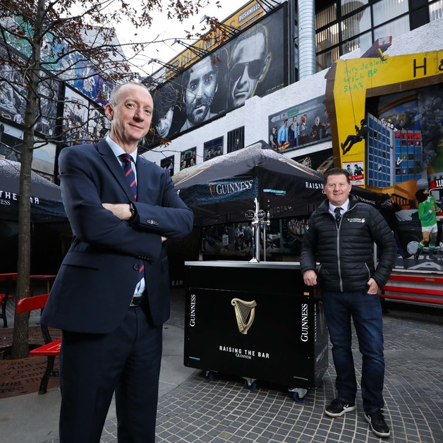"Guinness launches ""Raising the Bar Helpline"", providing emotional counselling and financial information to the pub trade in Northern Ireland Image"
